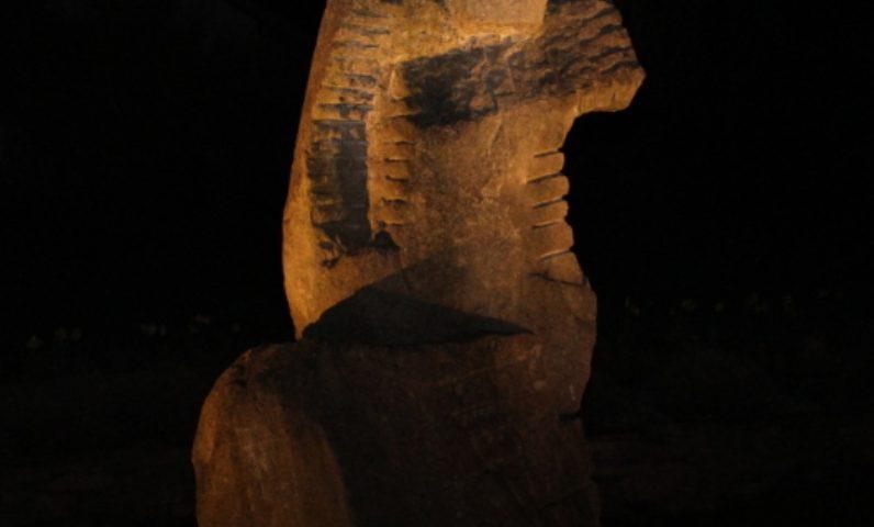 4C Mühlviertlerin bei Nacht, Westansicht