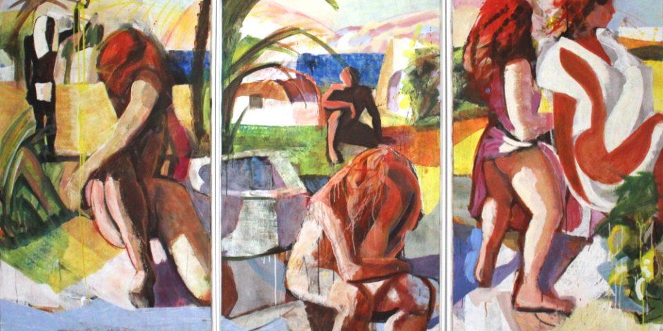 23B – Ohne Titel, Triptychon, 2002