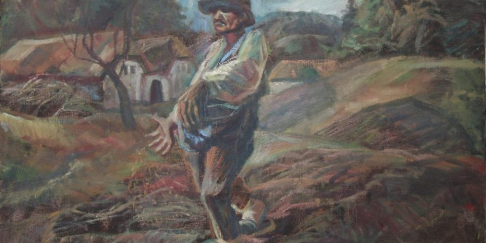 24B – Sämann, 1996, Archiv DOHA, Preis auf Anfrage