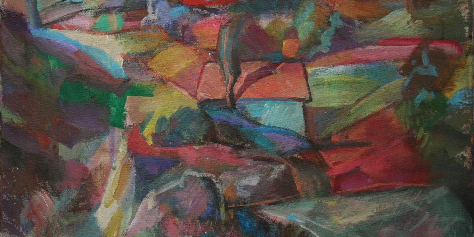 26B – Landschaft, 1998, € 1.200