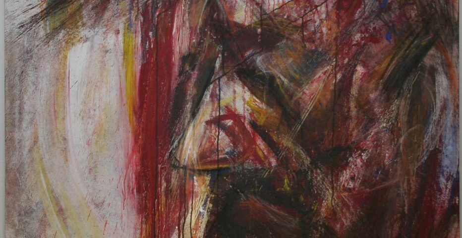 "54D – Christus, 2003, ""Der Tod ist groß…"""